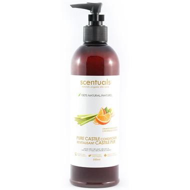 Scentuals Natural Castile Conditioner Orange Lemongrass