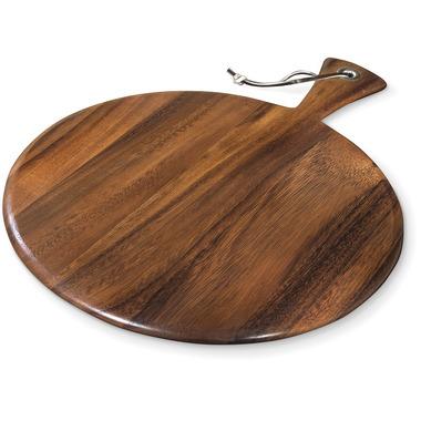 Ironwood Gourmet Small Round Acacia Wood Paddle Board