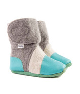 Nooks Design Felted Wool Booties Water