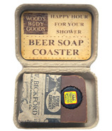 Wood's Body Goods Dark Brew Beer Rich Lather Shaving Soap