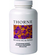 Thorne Research Betaine HCI & Pepsin
