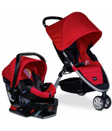 Britax B-Agile/ B-Safe 35 Travel System Red