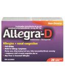 Allegra-D Allergies + Nasal Congestion