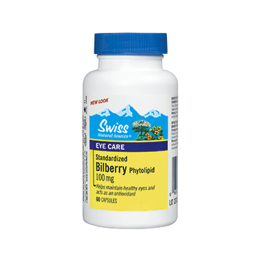 Swiss Natural Sources Bilberry Phytolipid