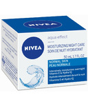 Nivea Aqua Effect Moisturizing Night Care