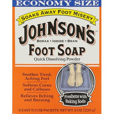 Johnson\'s Foot Soap