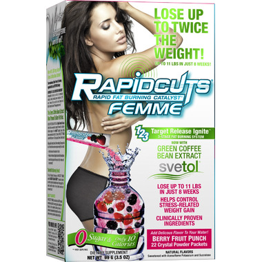 Rapidcuts Femme Crystal Powder Packets