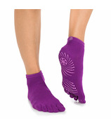 Gaiam Grippy Yoga Socks S/M Sparkling Grape