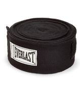Everlast 108 inch Hand Wraps Black