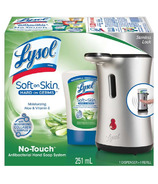 Lysol No-Touch Antibacterial Automatic Hand Soap Dispenser & Refill