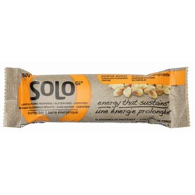 SoLo Gi Peanut Power Energy Bars