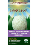 Host Defense Lion's Mane (Hericium Erinaceus) Capsules