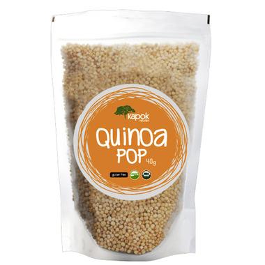 Kapok Naturals Quinoa Pop Peruvian Quinoa