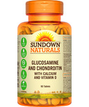 Sundown Naturals Glucosamine and Chondroitin