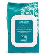 Acure Coconut and Argan Oil Cleansing Towelettes
