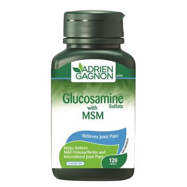 Adrien Gagnon Glucosamine with MSM