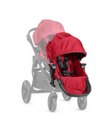 Baby Jogger City Select Second Seat Red With Black Frame