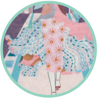 Djeco Embroidery Fashion Week