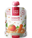 Love Child Organics Veggie Protein Pouch Veggie Ratatouille