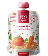 Love Child Organics Veggie Protein Pouch Veggie Ratatouille