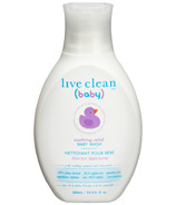 Live Clean Baby Soothing Relief Baby Wash