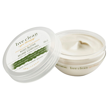 Live Clean Spa Therapy Moisturizing Body Butter