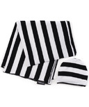 Milk Snob Hello Baby Set Black and White Signature Stripes
