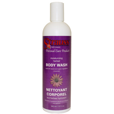 Strauss Herb Company Moisturizing Herbal Body Wash