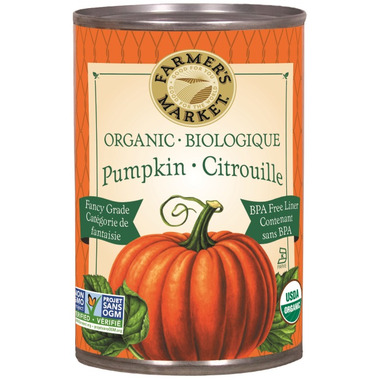 Farmer\'s Market Organic Canned Pumpkin