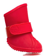 Wellies Boots for Dogs Extra Large in Red