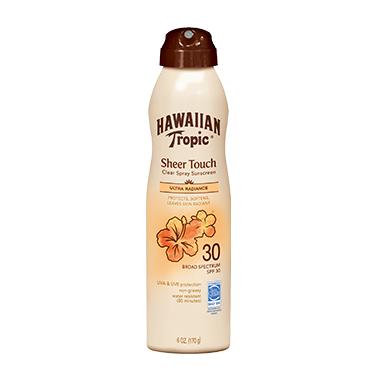Hawaiian Tropic Sheer Touch Ultra Radiance Clear Spray Sunscreen