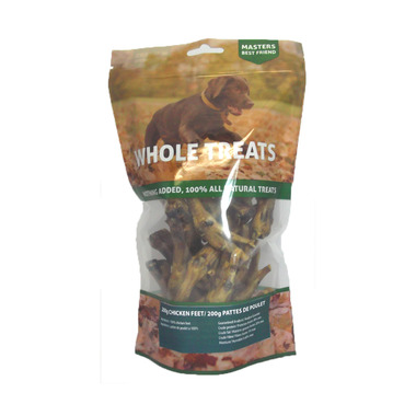 Masters Best Friend Chicken Feet Dog Treat