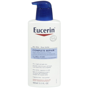 Eucerin Complete Repair Daily Moisturizing 5% Urea Lotion