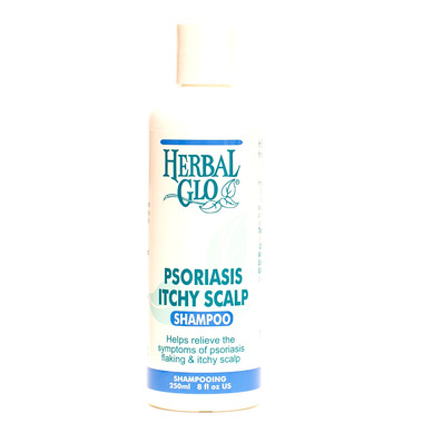 Herbal Glo Psoriasis Itchy Scalp Shampoo