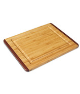 Island Bamboo Rainbow Cutting Board with Gravy Groove