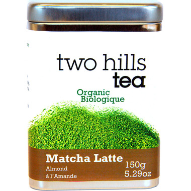 Two Hills Tea Organic Matcha Almond Latte Mix