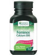 Adrien Gagnon Feminex Calcium 500 mg