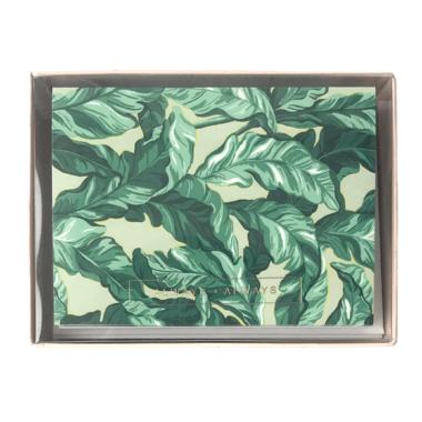 ALWAYSxALWAYS Palm Leaf Card Set