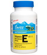 Swiss Natural Sources Vitamin E With Selenium