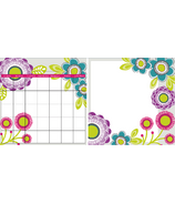 WallPops Poppy Flower Message and Calendar Decal Set