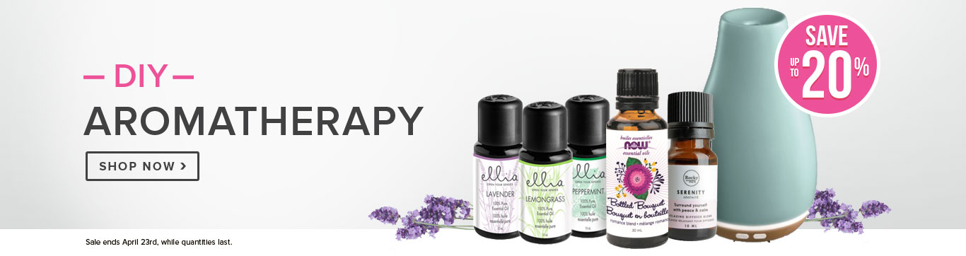 Save up to 25% on DIY Aromatherapy