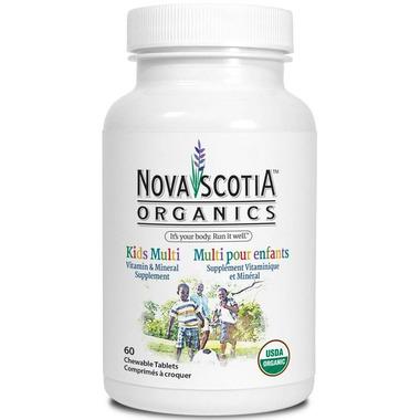 Nova Scotia Organics Kids Multi Vitamin and Mineral Supplement