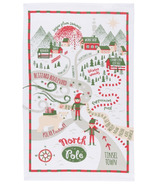 Now Designs North Pole Dishtowel