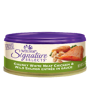 Wellness Signature Selects Chunky Chicken & Salmon Wet Food CASE OF 24