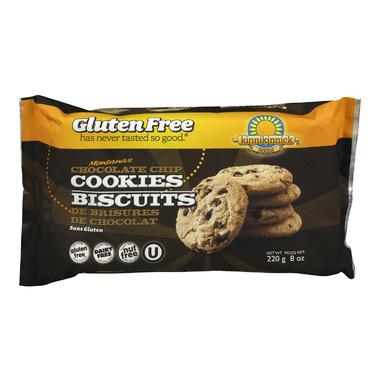 Kinnikinnick Montanas Chocolate Chip Cookies