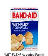 Band-Aid Wet Flex Assorted Family Pack