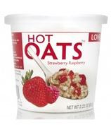 Love Grown Foods Hot Oats Strawberry Raspberry