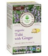 Traditional Medicinals Organic Tulsi with Ginger Tea