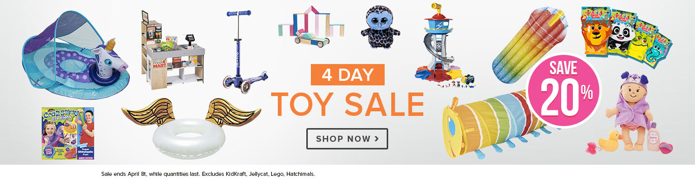 20% off Almost All Toys & Games @ Well.ca