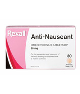 Rexall Anti-Nausea Tablets